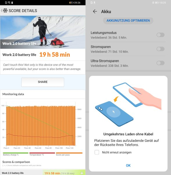 Huawei Mate 30 Pro Akku Laden