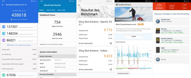 Huawei Mate 30 Pro Benchmarks