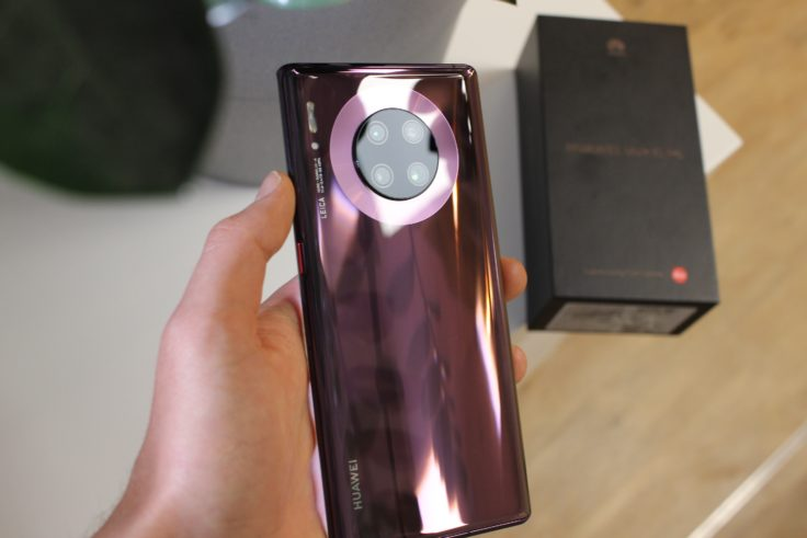 Huawei Mate 30 Pro Rueckseite