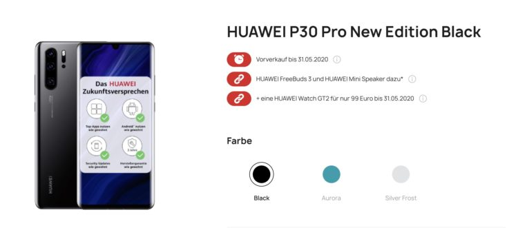 Huawei P30 Pro New Edition Bundle