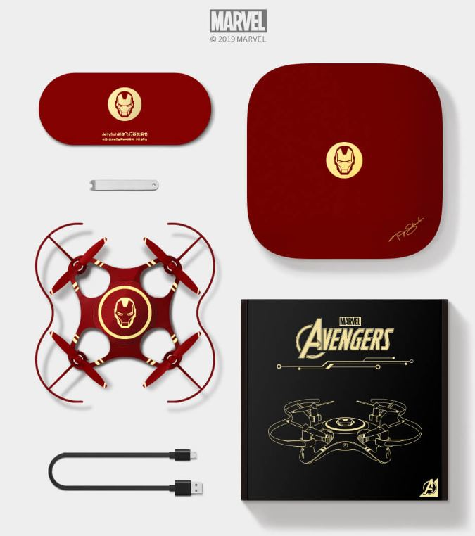 Jellyfish Drohne Avengers Edition