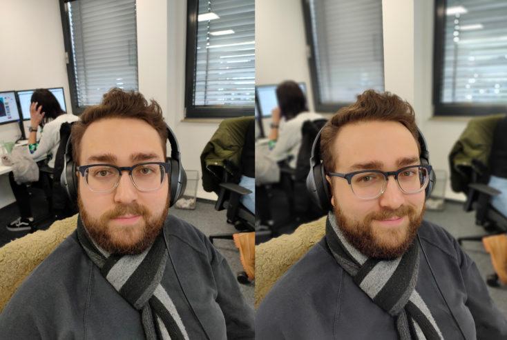 Realme 5 Pro Hauptkamera Vergleich Portrait