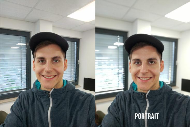 Realme X2 Frontkamera Testfoto Portrait Vergleich