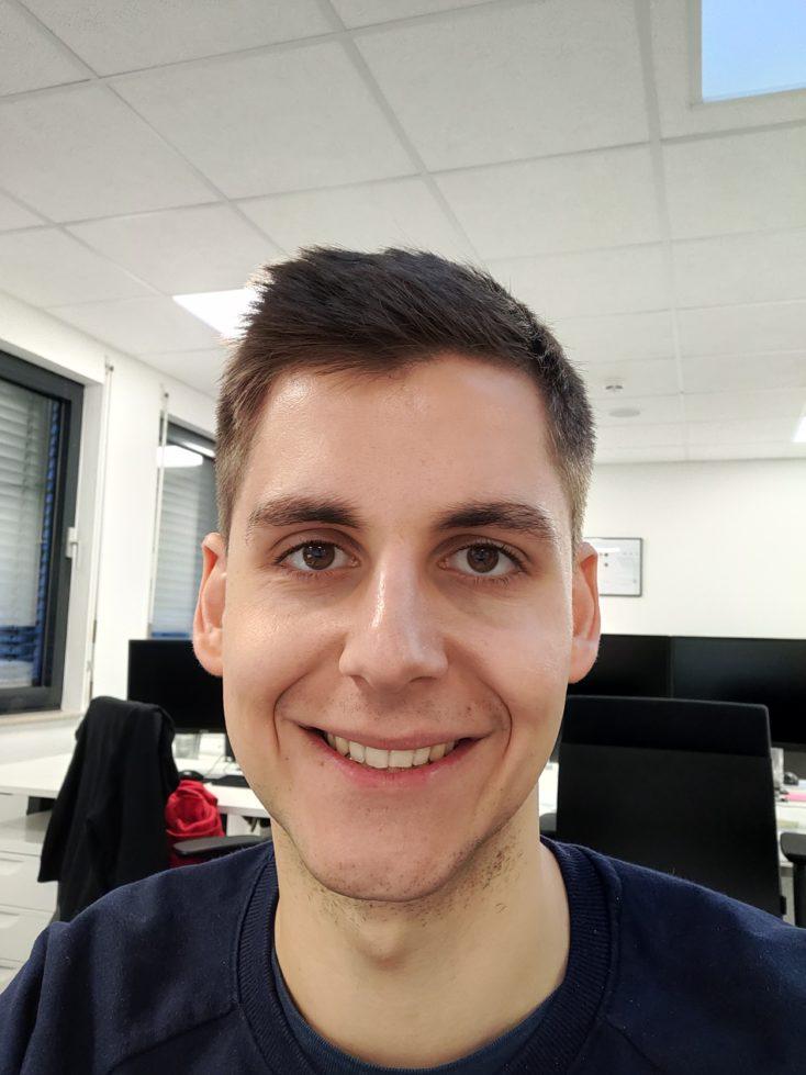 Realme XT Testfoto Frontkamera