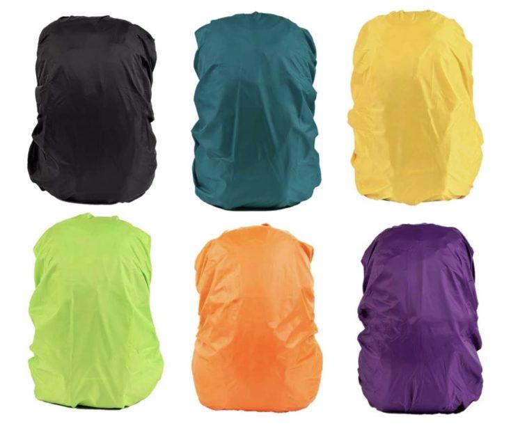 Rucksack Regenschutz Farben