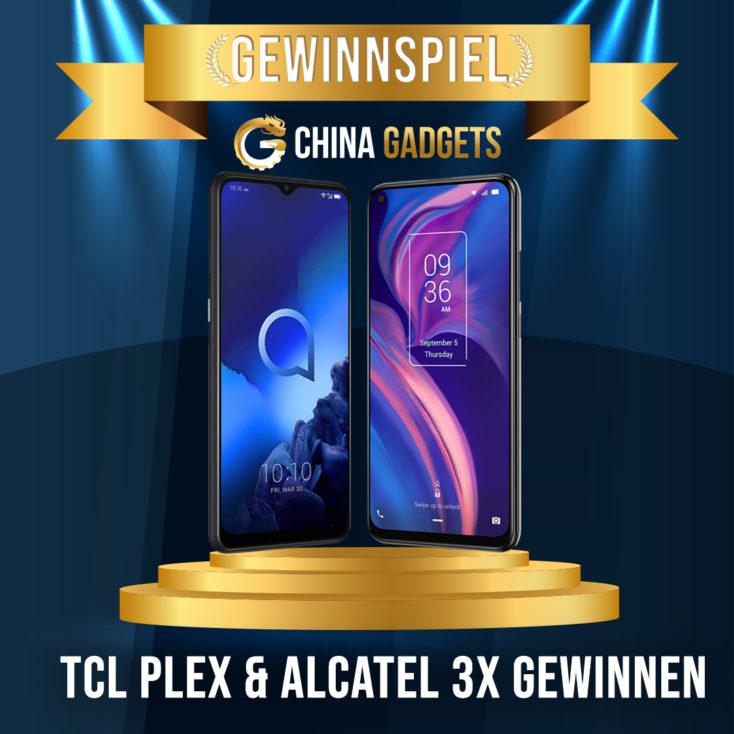 TCL Plex Alcatal 3X Social Gewinnspiel