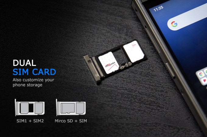 Unihertz Titan Dual SIM Slot