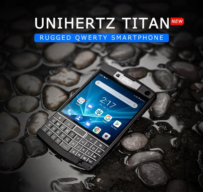 Unihertz Titan Smartphone