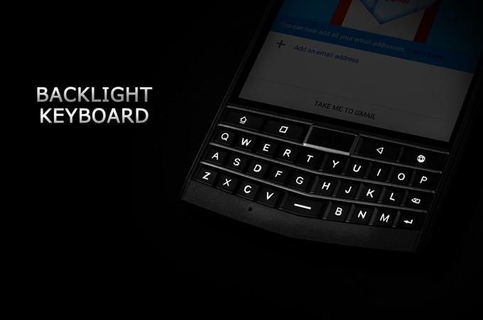 Unihertz Titan Tastatur