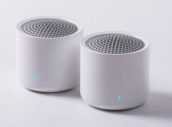 Xiaomi Bluetooth Stereo-Speaker Paar nebeneinander.