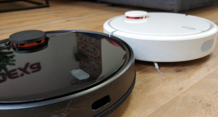 Xiaomi Mijia LDS Robot Saugroboter Vergleich Design Mi Robot