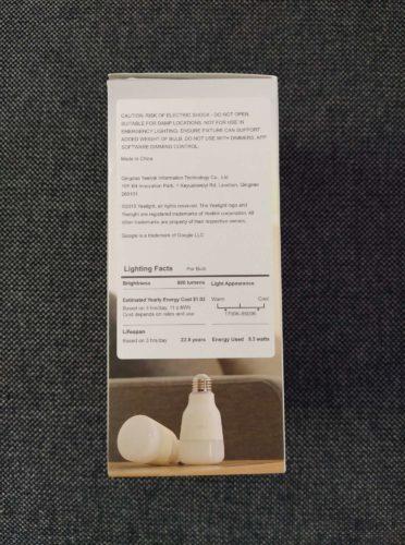 Yeelight 1S Verpackungsbeschreibung