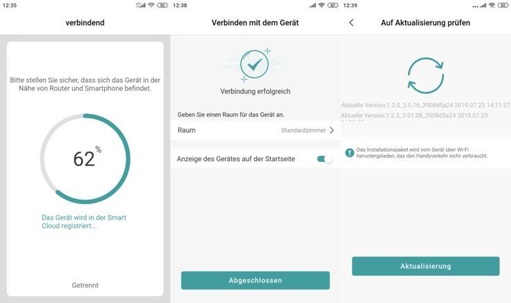 Zigma Spark 980 Saugroboter App Einbindung