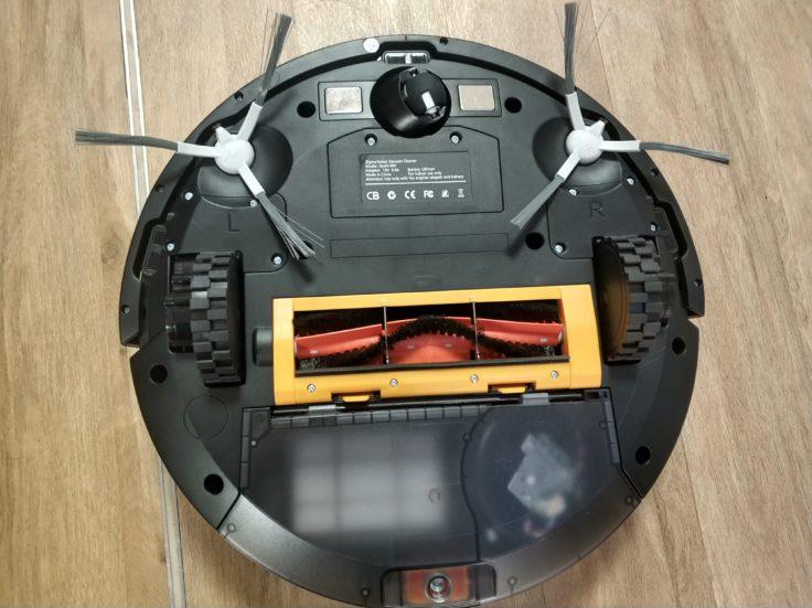 Zigma Spark 980 Saugroboter Unterseite