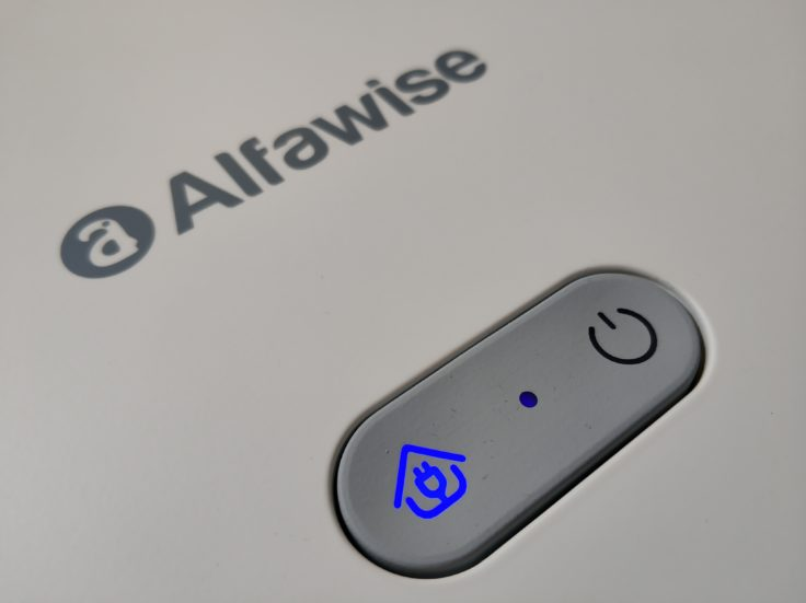 Alfawise V10 Max Saugroboter Bedienelemente