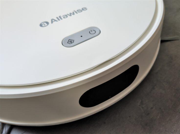 Alfawise V10 Max Saugroboter Vorderseite Design