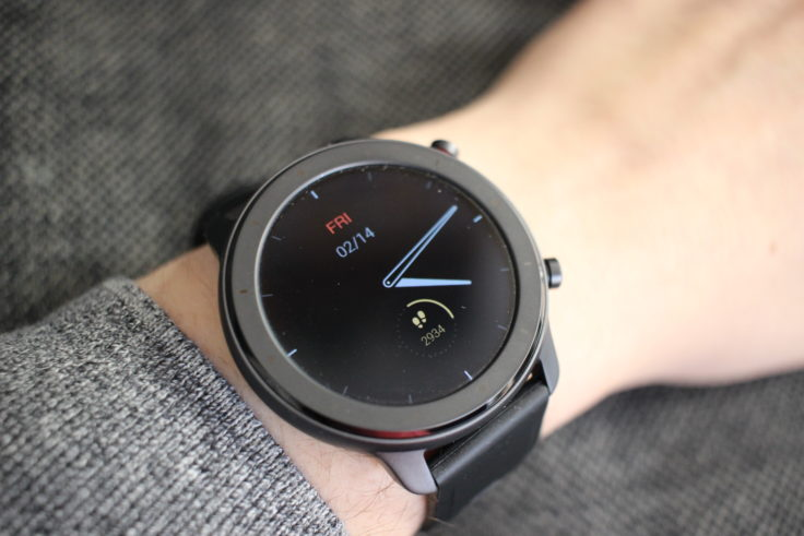 Amazfit GTR Lite Always On Display