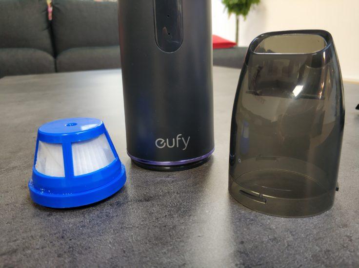 Anker eufy HomeVac H11 Handsauger Staubkammer Zusammensetzung