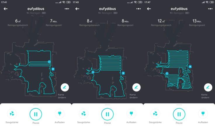 Anker eufy L70 Hybrid Saugroboter App Mapping Beginn