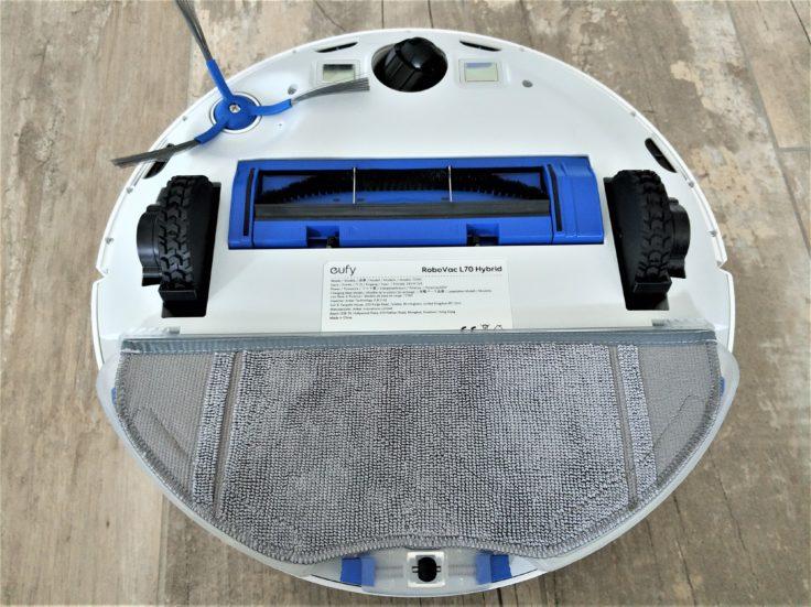 Anker eufy L70 Saugroboter Wischfunktion Unterseite