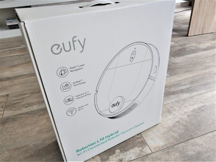Anker eufy L70 Saugroboter Verpackung