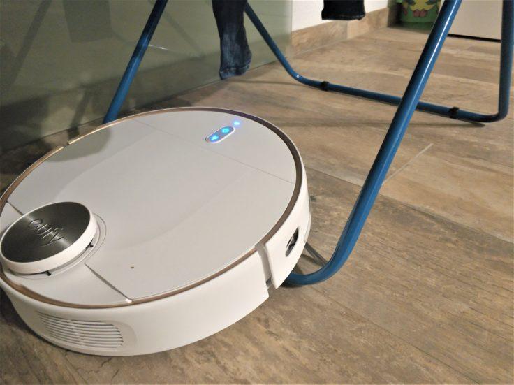 Anker eufy L70 Saugroboter Hindernis Wäscheständer