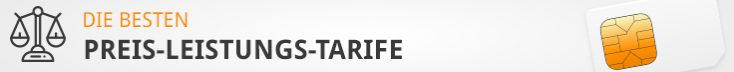 CG Tarife Preis-Leistungs