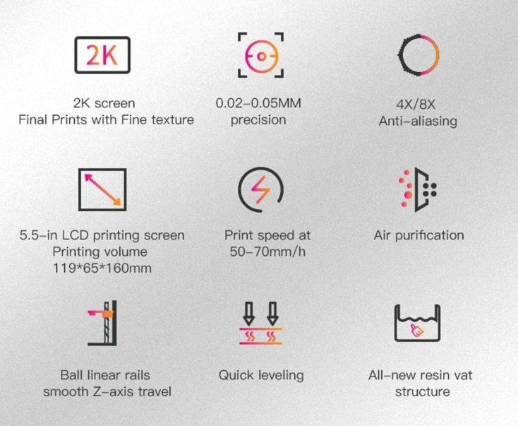 Creality LD 002R 3D Drucker Specs