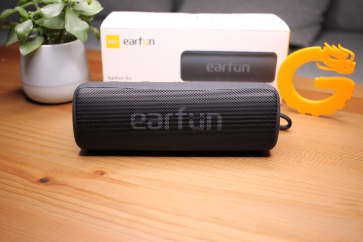 Earfun Go Bluetooth Lautsprecher Design