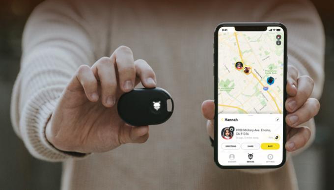 FOUND GPS Tracker