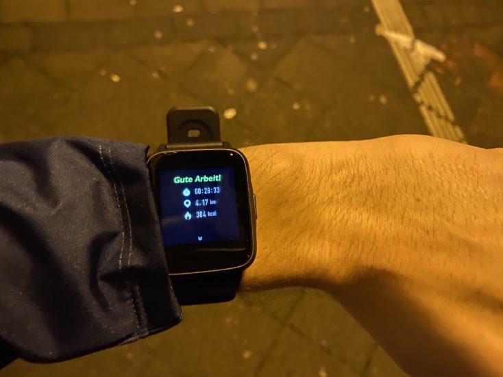 Haylou LS01 Smartwatch Aktivitat