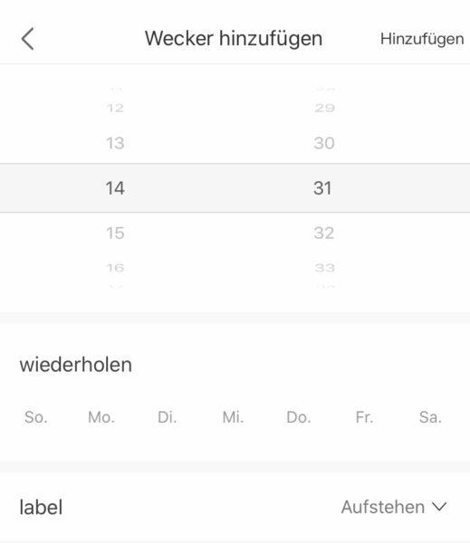 Haylou LS01 Smartwatch App Wecker
