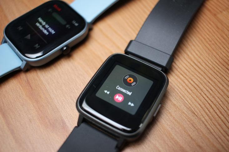 Haylou LS01 Smartwatch Musiksteuerung