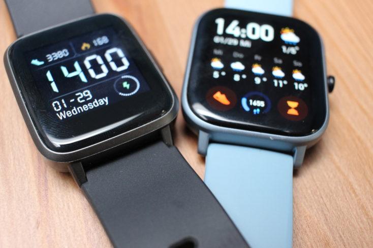 Haylou LS01 Smartwatch Verarbeitung