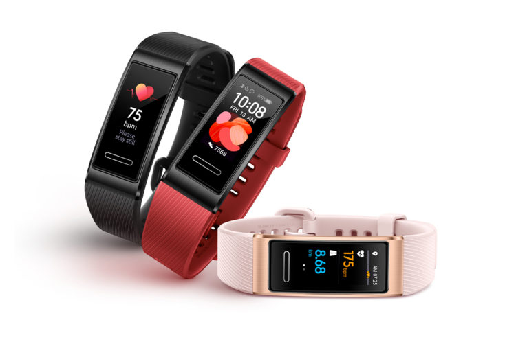 Huawei Band 4 Pro Fitness Tracker Design