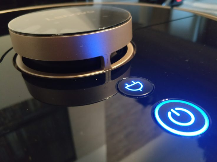 Lenovo X1 Saugroboter Buttons Bedienelemente