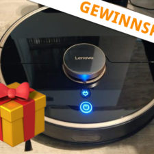 Lenovo X1 Saugroboter Gewinnspiel