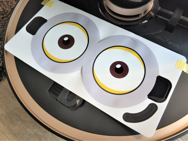 Lenovo X1 Saugroboter Sticker Augen