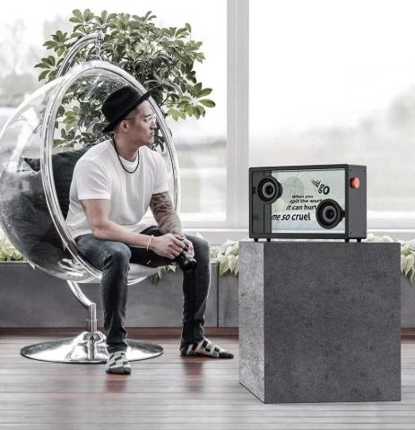 MORROR ART Bluetooth Lautsprecher Zimmer