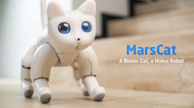 MarsCat Roboter-Katze