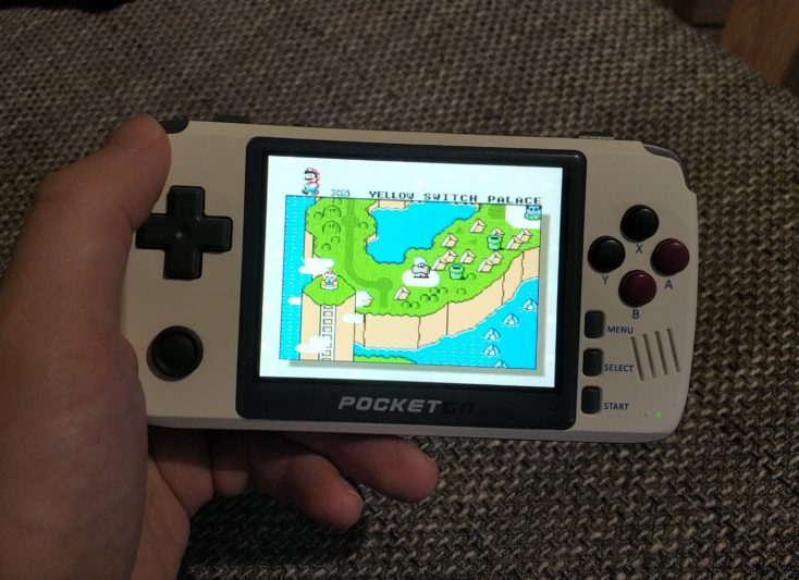 New PocketGo 2 Super Mario World