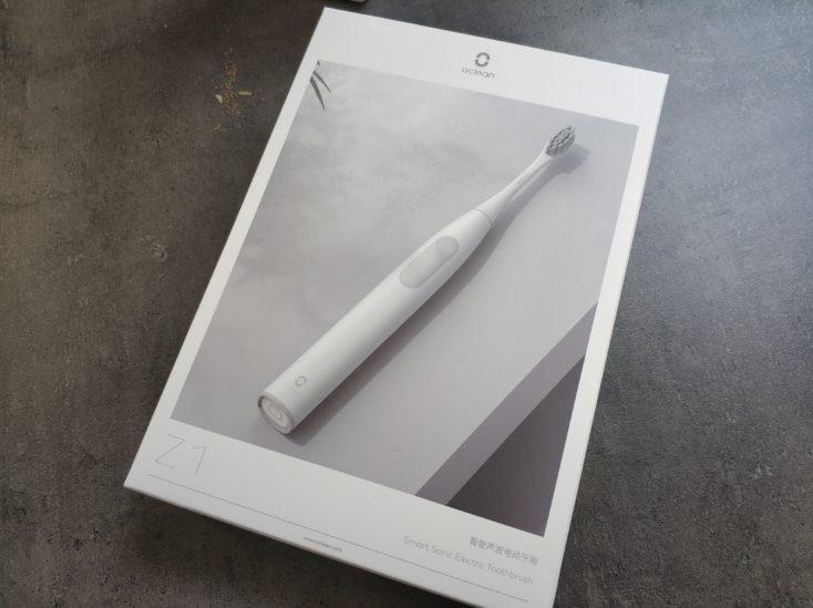 Oclean Z1 elektrische Zahnbuerste Verpackung Vorderseite