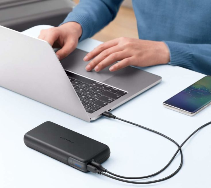RAVPower USB-C Powerbank 60W Laden