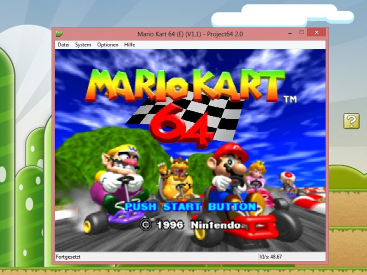 Emulator ROMS Mario Kart