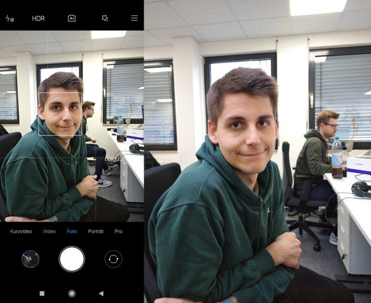 Redmi 8A App vs Foto