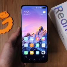 Redmi K30 Smartphone in Hand