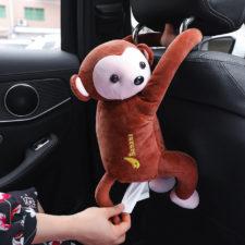 Taschentuch-Box Affe