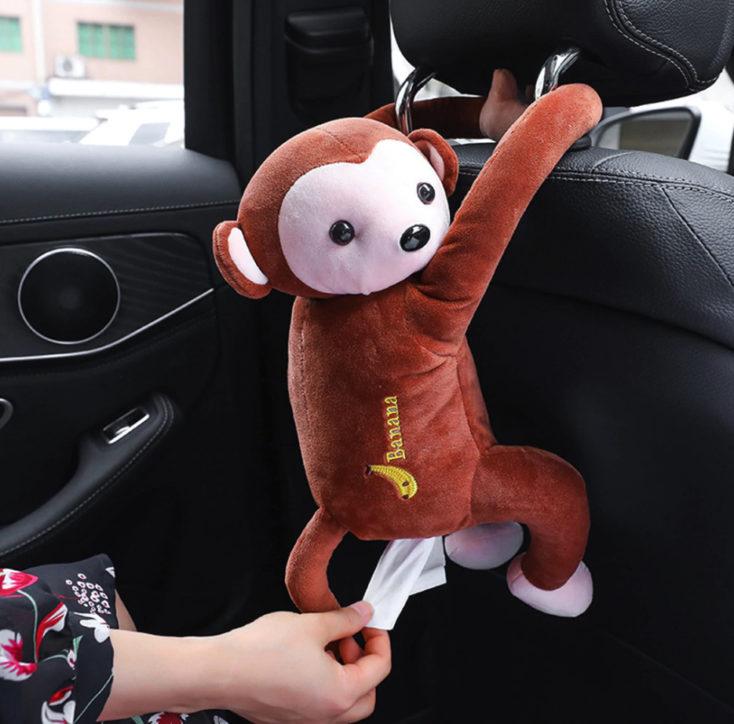 Taschentuch-Boxen Affe