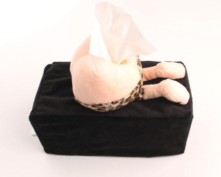 Taschentuch-Boxen Hintern