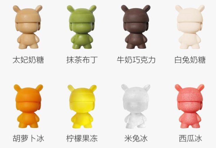 Xiaomi Mi Rabbit Silikonformen Gummibärchen